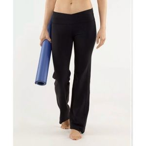 Lululemon Stretch Astro Luon Yoga Workout Pants 4
